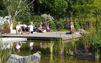 Schwimmteich im ESSENSIO in Erkrath bei Düsseldorf